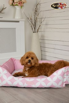 Washable Medium Breed Florence Geo Pet Bed by Scruffs®
