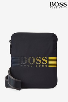 BOSS Blue Pixel Envelope Bag