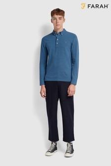 Farah Blue Ricky Poloshirt