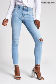 River Island Light Auth Molly Luna Jeans