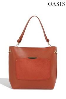 Oasis Orange Sadie Ring Hobo Bag