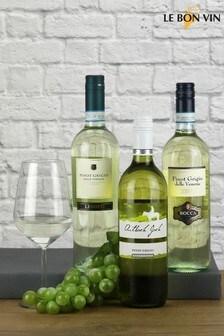 Trio of Pinot Grigio Wines by Le Bon Vin