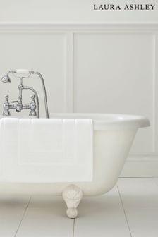 Laura Ashley Cotton Border Bath Mat