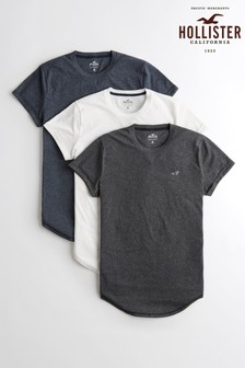 Hollister Multi T-Shirts Three Pack