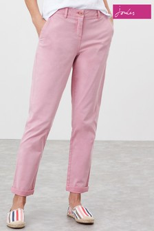 Joules Pink Hesford Chino Trousers