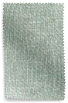 Belgian Soft Twill Teal Upholstery Fabric Sample