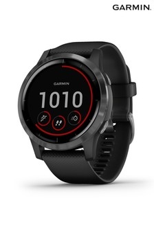 Garmin vívoactive® 4 GPS Black And Slate Smartwatch