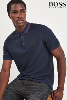 BOSS Blue Pase Polo