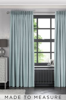 Leta Seafoam Green Made To Measure Curtains