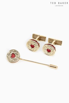Ted Baker Gold Cufflinks