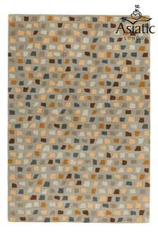Reef Wool Pixel Rug by Asiatic Rugs