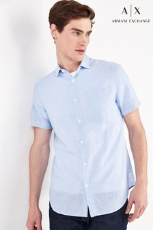 Armani Exchange Blue Shirt