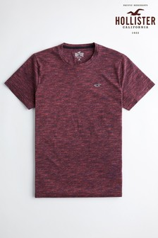 Hollister Burgundy Short Sleeve T-Shirt