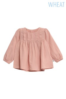 Wheat Pink Misty Rose Elsa Blouse