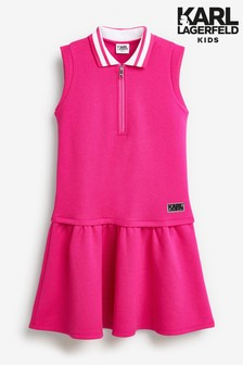 Karl Lagerfeld Pink Dress