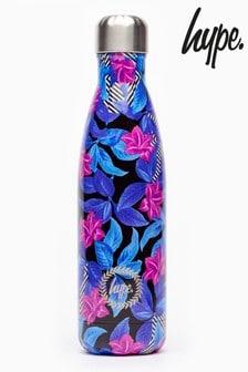 Hype. Geo Floral Metal Reusable Bottle