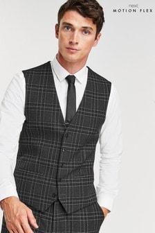 Check Motionflex Suit: Waistcoat