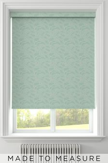 Clouds Teal Made To Measure Roller Blind