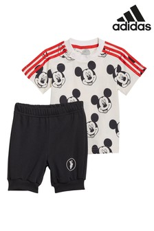 adidas Infant T-Shirt and Shorts Set