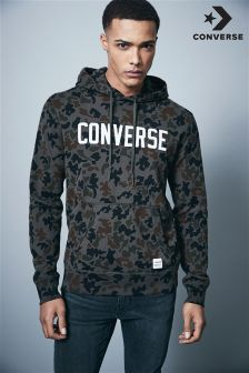 Converse Essentials Camo Pull Over Hoody