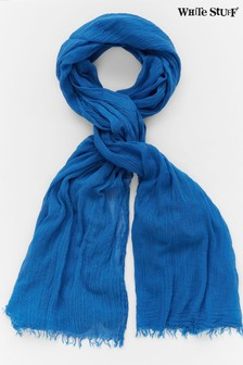 White Stuff Blue Dreaming Away Scarf