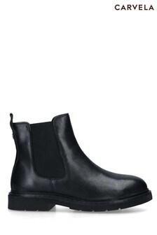 Carvela Black Strategy Chelsea Boots