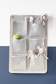 Grey Cord Hanging Storage