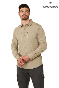 Craghoppers Natural Kiwi Boulder Long Sleeve Shirt