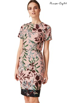 Phase Eight Joan Double Layer Printed Dress