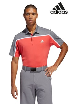 adidas Golf Ultimate 365 Block Stripe Poloshirt