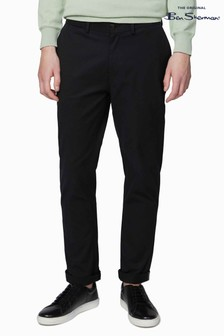 Ben Sherman Black Signature Slim Stretch Chinos