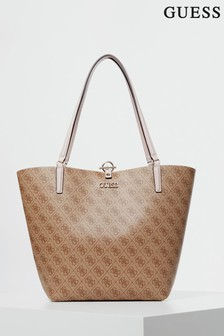 Guess Brown Alby Tote