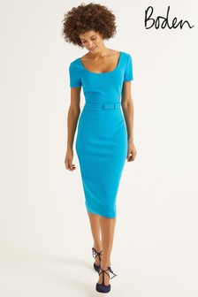 Boden Blue Tilly Ottoman Dress