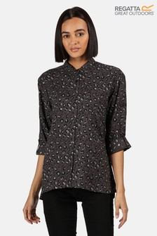 Regatta Black Meera Coolweave Shirt