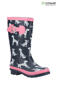 Cotswold Blue Spot Wellington Boots