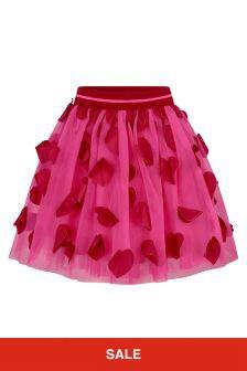Simonetta Girls Pink Skirt