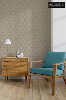 Velvet Trellis Wallpaper by Arthouse