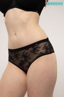 Dorina Black Linux Cheeky Hipster Briefs