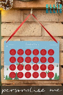 Personalised Children's Activity Advent Calendar by Ellie Ellie