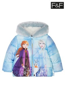 F&F Blue Disney™ Frozen 2 Coat