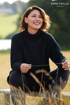 Emma Willis Premium Wool High Neck Jumper