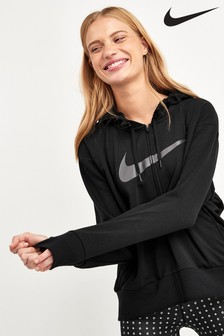 Nike Dri-FIT Get Fit Zip Through Fleece Training Hoody