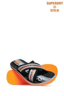 Superdry Trophy Cross Strap Flip Flop