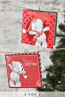 20 Pack Tatty Teddy Christmas Cards