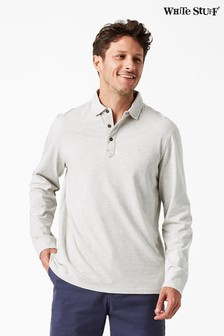 White Stuff Natural Wimborne Marl Polo
