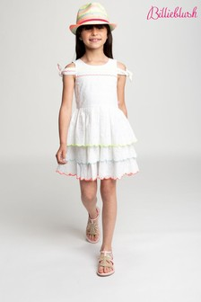 Billie Blush White Dress