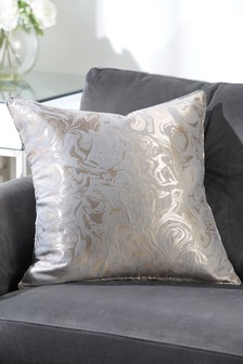 Marble Jacquard Cushion