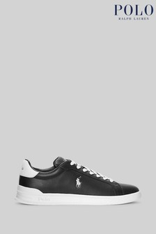 Polo Ralph Lauren Heritage Court II Contrast Leather Trainers