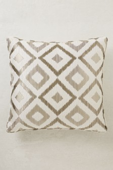 Jacquard Geo Cushion