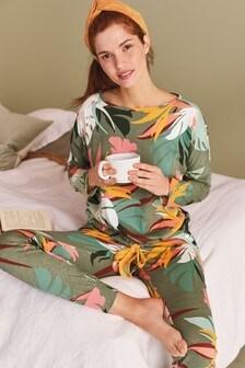 Bavlněné pyžamo